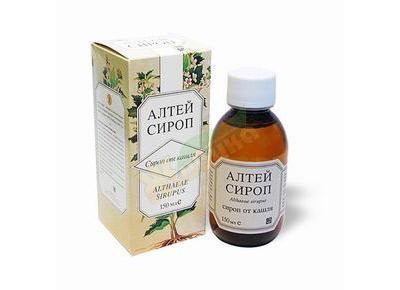 От какого кашля помогает сироп алтея?