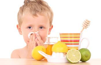 Народные средства от кашля детям